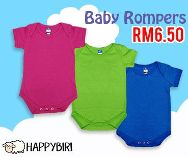 baby rompers promo