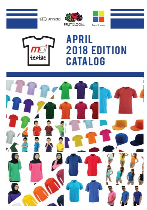MD Textile Apparel Catalog 2018