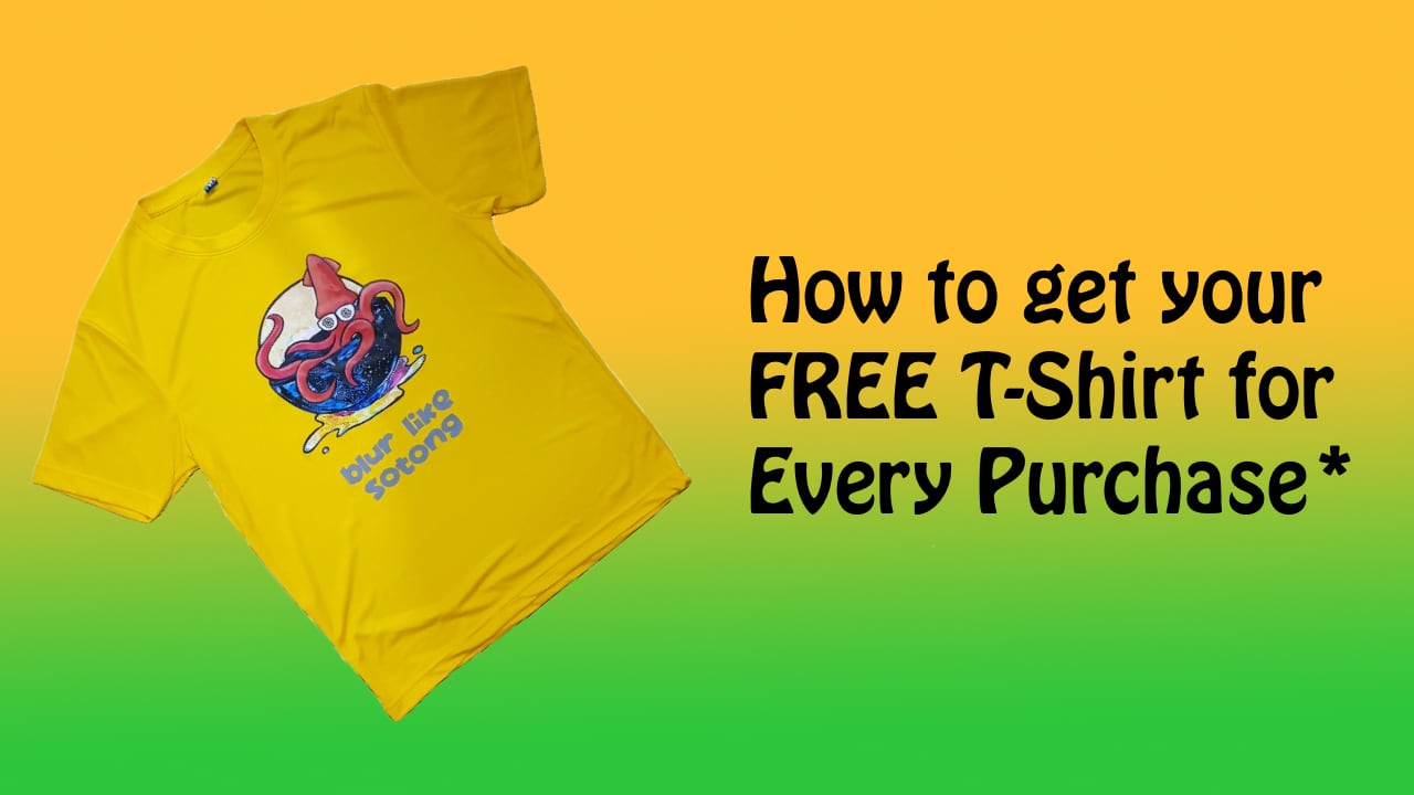 Free T Shirt Giveaway Promo