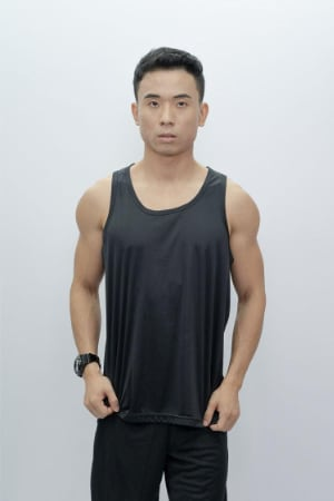 Mens Tank Top Black