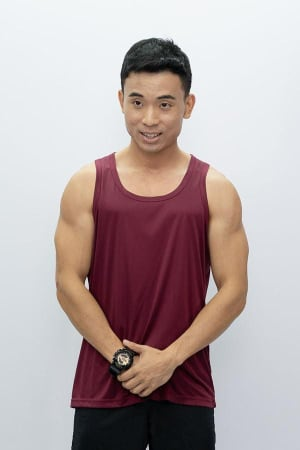 Mens Tank Top Burgandy