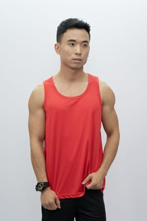 Mens Tank Top Red