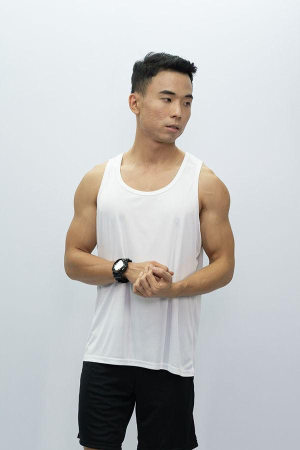 Mens Tank Top White
