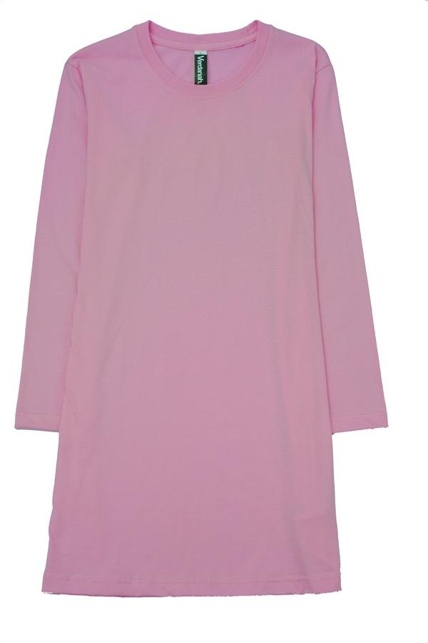 fullycombed cotton muslimah t shirt pink