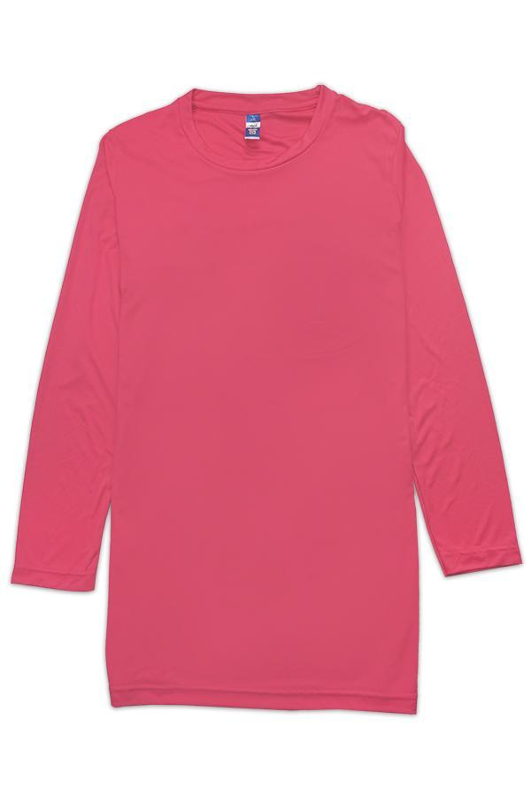 vivid fit ladies dress fuchsia