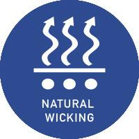 vivid logo natural wicking