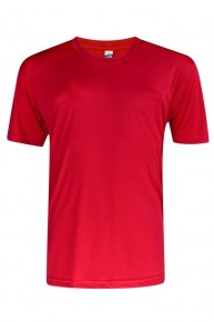 Vivid Feather Soft Red T-shirt