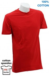 Cotton Spandex Round Neck T-Shirt