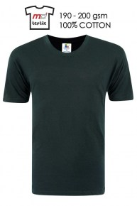 Enzyme Washed Round Neck T-Shirt
