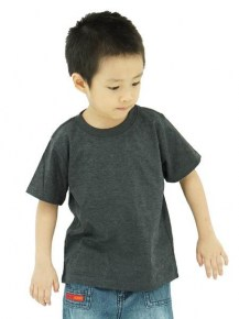 Frooty 100% Cotton Kids T-shirt - Dark Melange