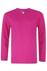 Long Sleeve T-Shirt Fuchsia