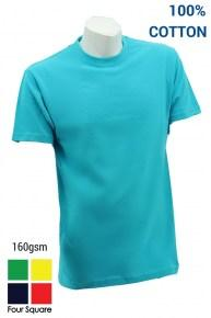 Foursquare Round Neck T-Shirt 160gsm Category