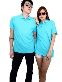 Basic Foursquare Cotton Honeycomb Polo