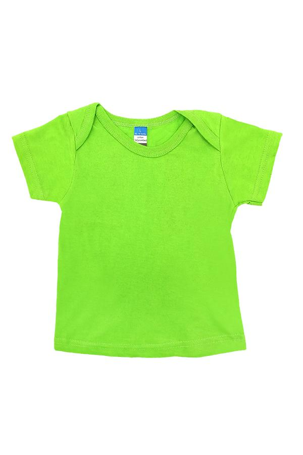 Baby Envelope Neck T-Shirt Apple Green