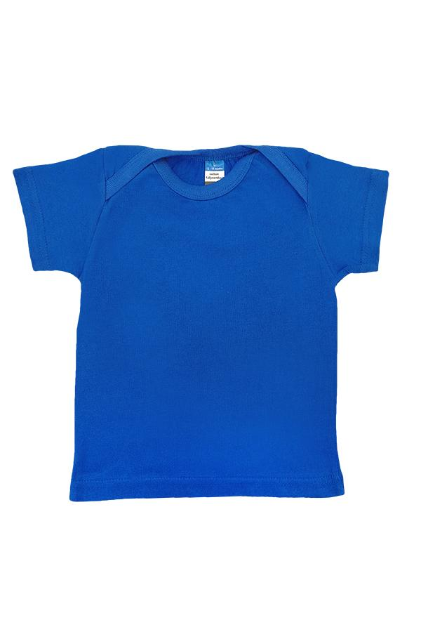 Baby Envelope Neck T-Shirt Royal Blue
