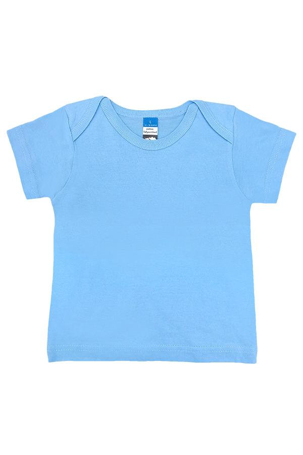 Baby Envelope Neck T-Shirt Sky Blue