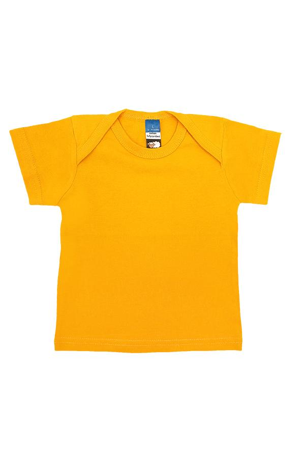 Baby Envelope Neck T-Shirt Yellow