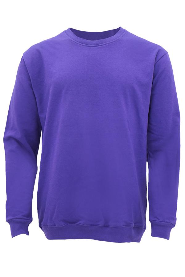 baby Terry sweater purple