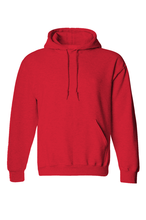 Baby Terry Hoodies Red
