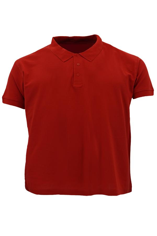 MD Polo Plus Size Red
