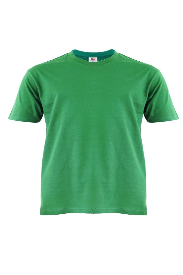 Cotton-Plus-Size-T-Shirt-kelly-green