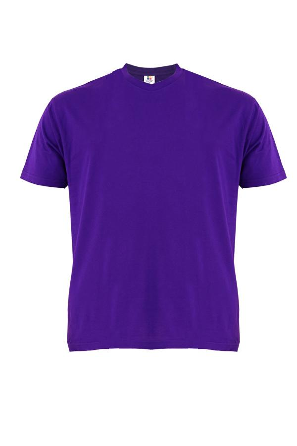 Cotton-Plus-Size-T-Shirt-purple