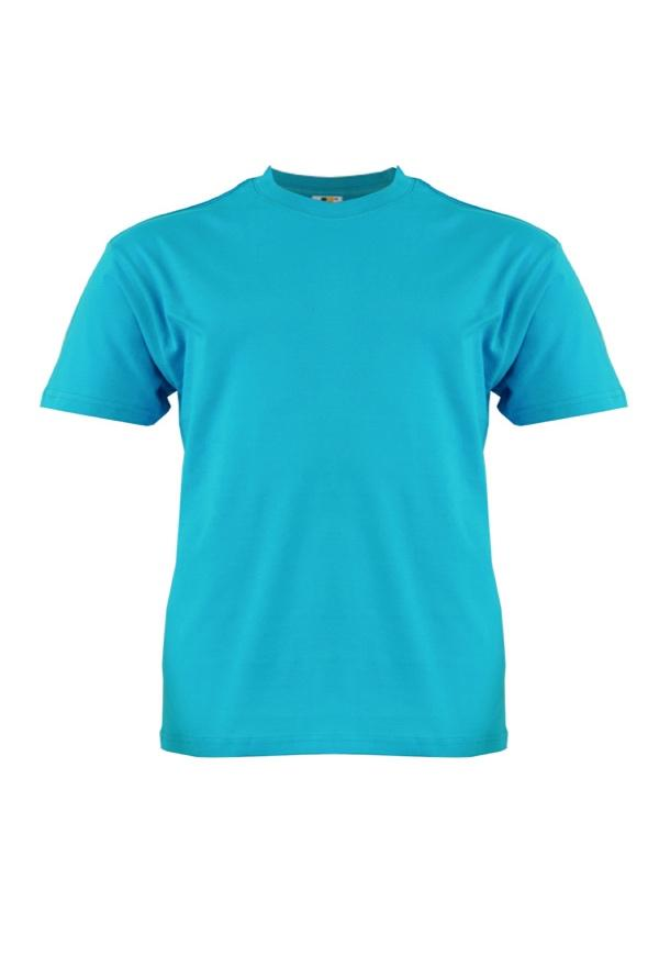 Cotton-Plus-Size-T-Shirt-Turquoise