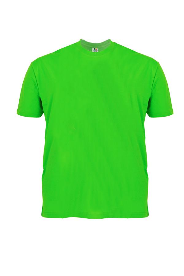 Cotton-Plus-Size-T-Shirt-apple-green