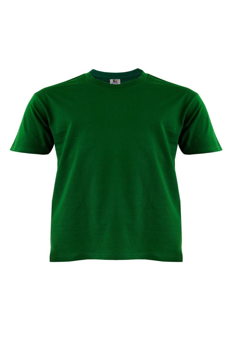 Cotton-Plus-Size-T-Shirt-bottle-green