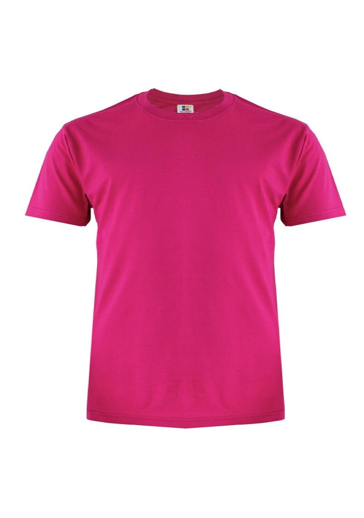 Cotton-Plus-Size-T-Shirt-fuchsia