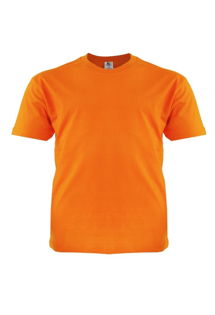 Cotton-Plus-Size-T-Shirt-orange