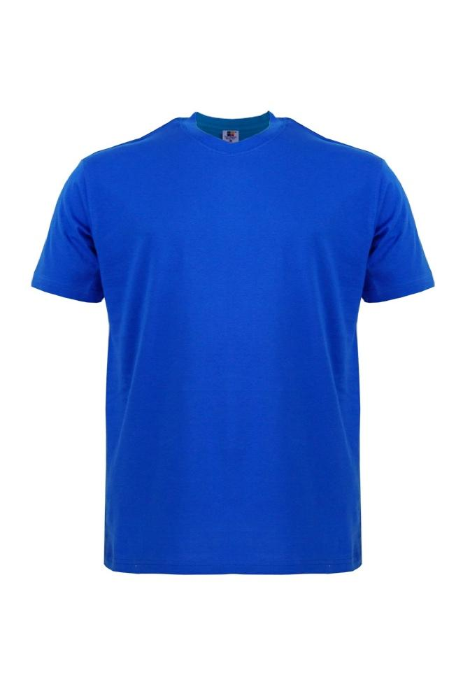 Cotton-Plus-Size-T-Shirt-royal-blue