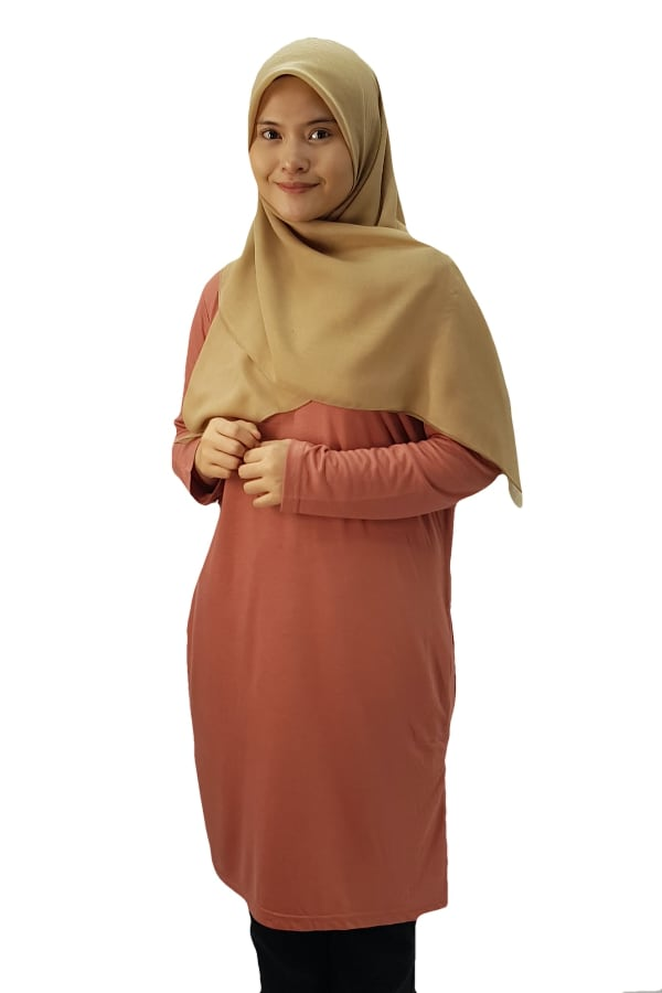 Emrif Long Dress Ladies - Gold