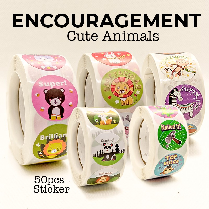 Cute Rewards Sticker Encouragement