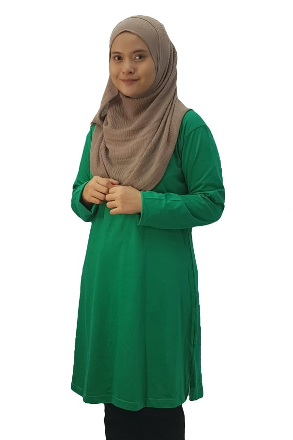 Fullycombed Muslimah Kelly Green