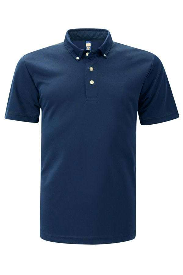 Feathersoft Polo - Navy Blue