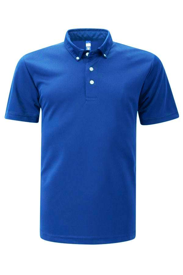 Feathersoft Polo - Royal Blue