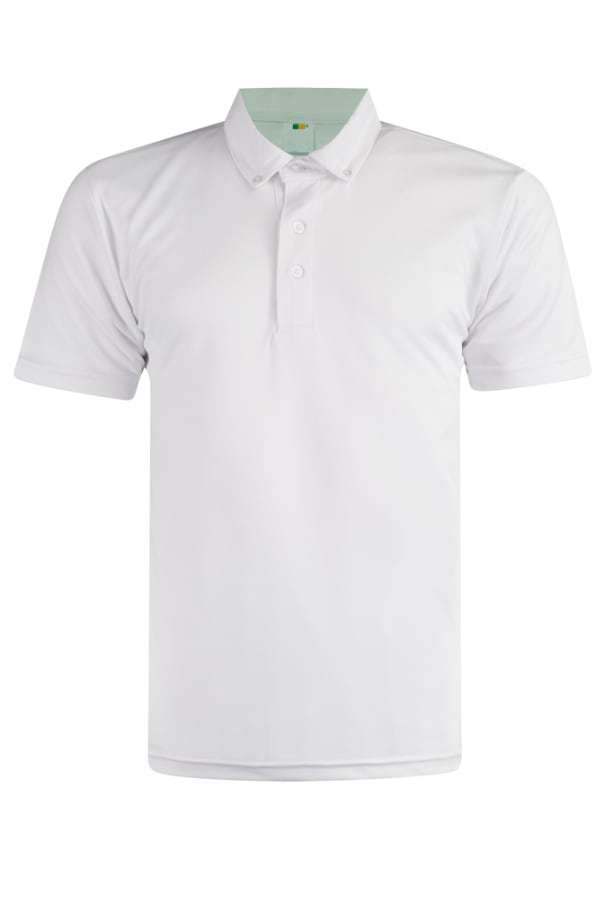 Feathersoft Polo - White