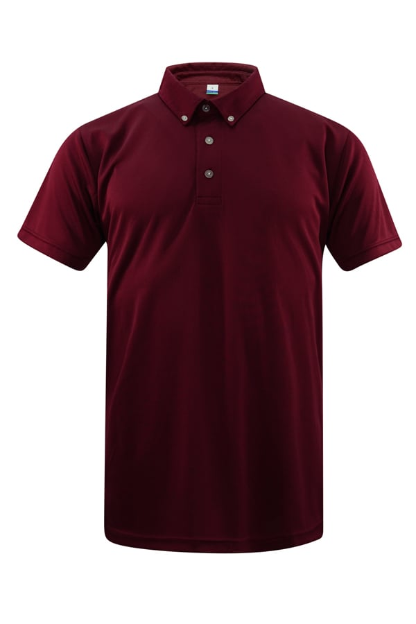 Feathersoft Polo Burgundy