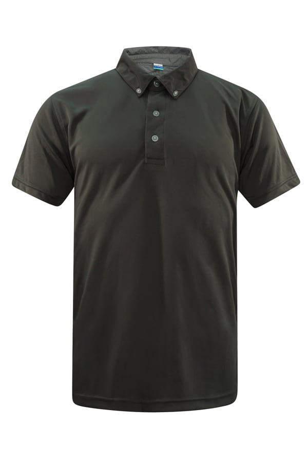 Feathersoft Polo Dark Grey