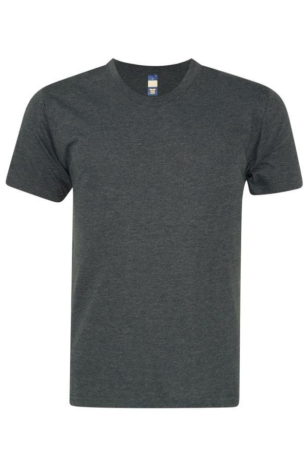Heather Supercool Performance Jersey - Midnight Grey T-shirt