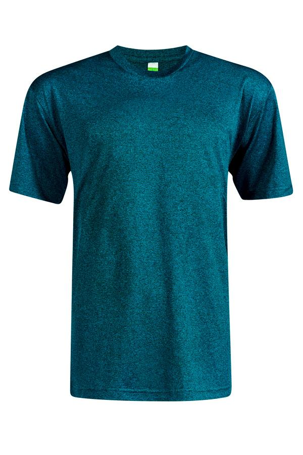 Heather Supercool Performance Jersey - Titanium Turquoise