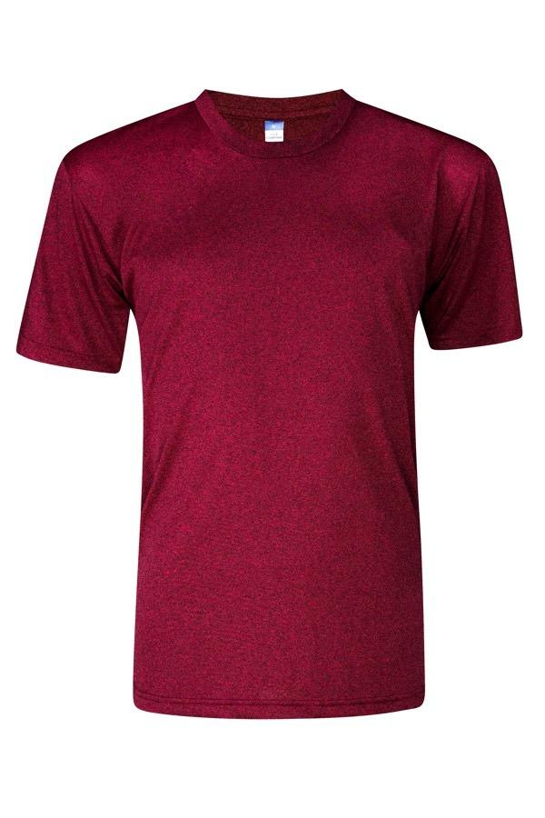 Heather Supercool Performance Jersey - Red Wine