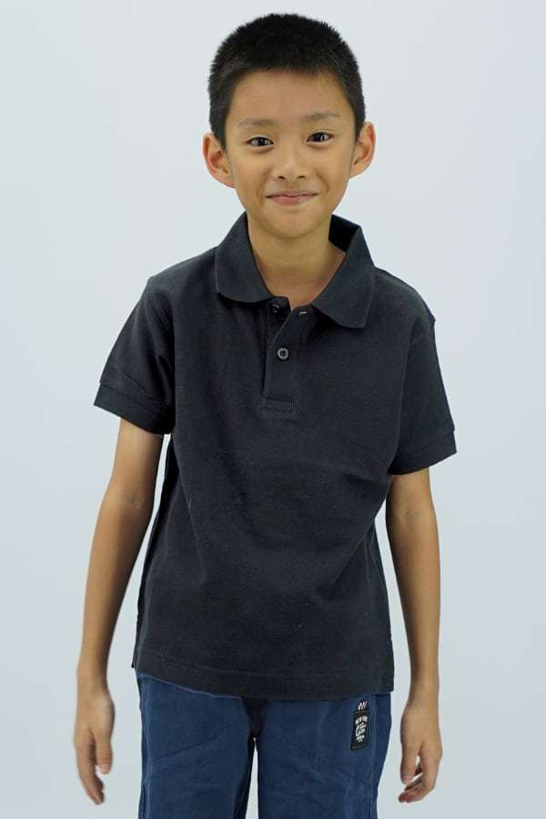Kids Polo - Black