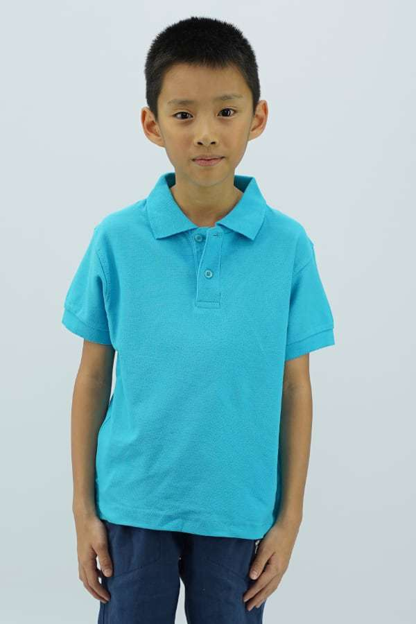 Kids Polo - Turquiose