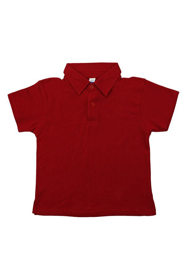MD Polo Kids - Red