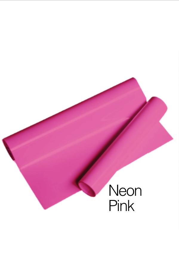 MD PVC Vinyl - Neon Pink for Heat Transfer