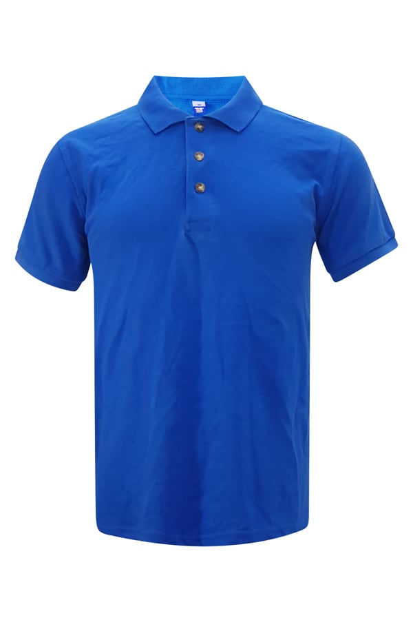 Pique Polo - Royal Blue