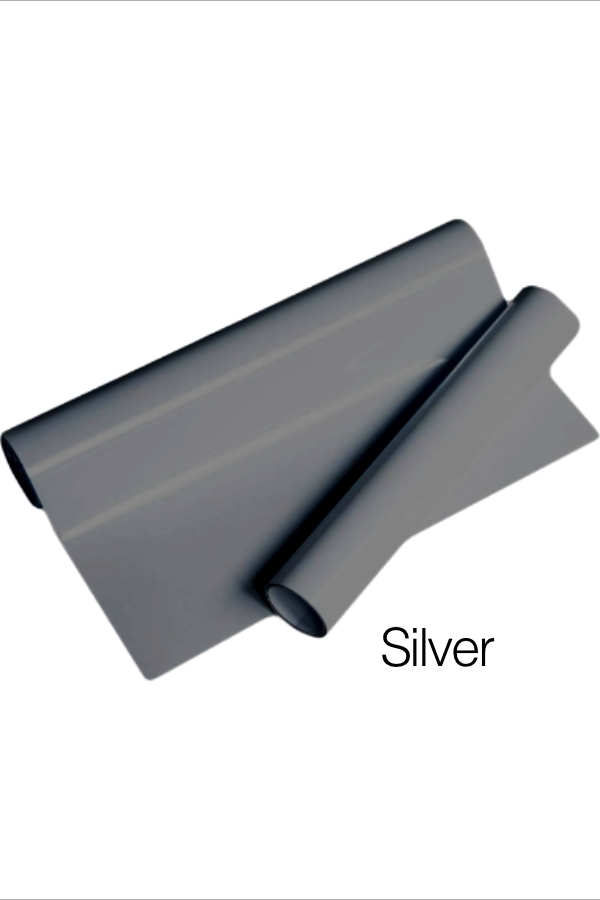 MD PVC Vinyl - Silver for Heat Transfer