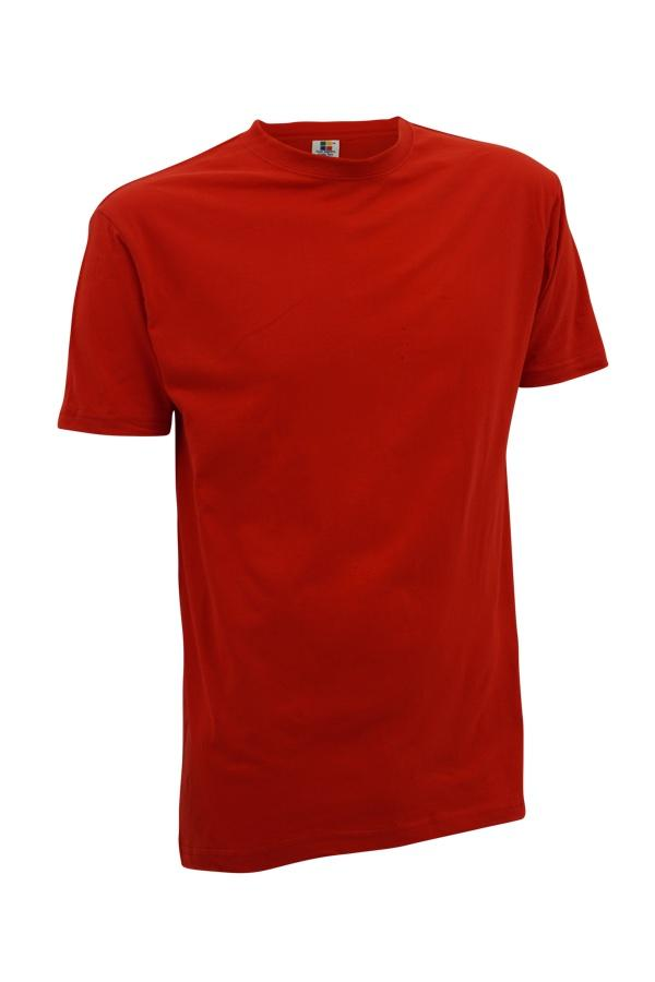 Enzyme / Bio Washed Red Round Neck T-Shirt